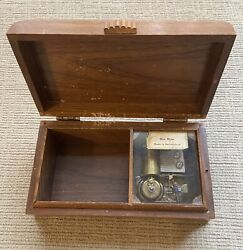 Thorens Swiss Music Box Rio Rita Melody Songs Works And Sounds Great Rare L@@k