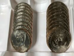 2005 Pd Kennedy Half Dollar 20 Coin-10pand10d Set Bu From Us Mint Bags Or Rolls