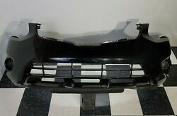 2011-2014 Nissan Rogue Front Bumper Cover Assembly No Fogs Used Black Oem