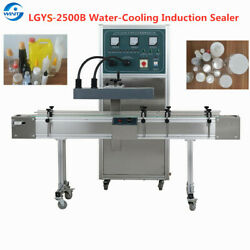 Automatic Water Cooling Continuous Induction Sealer For Pill Needle Cap Bottle