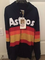 Houston Astros 1986 Mitchell And Ness Rainbow Throwback Sweater Large Kate Upton