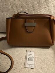 Kenneth Cole Reaction Crossbody Bag Cognac 9 inches by 6 inches $25.00