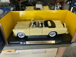 National Mint 1953 Packard Carribean 118 Scale Diecast Model Car New In Box