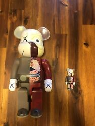 Kaws Authentic 400 + 100 Bearbricks Perfect Condition.