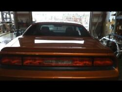 Trunk/hatch/tailgate Sxt With Spoiler Fits 08-14 Challenger 16665183