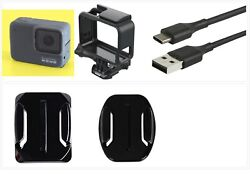 Used Gopro Hero 7 Silver Action Camcorder 4k Ultra Hd Camera Touch Screen Frame