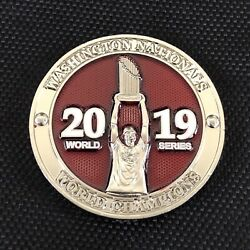 Usss Us Secret Service 2019 Nationals World Series Champions Challenge Coin