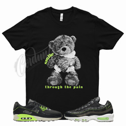 Smile Pain T Shirt For Nike Air Zoom M2z2 Electric Green Max 95 90 Volt Neon 4