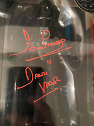 Darth Vadar Black Series Figure Signed By Dave Prowse