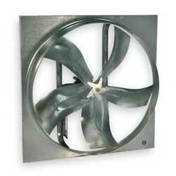 Dayton 7m7w0 Medium Duty Exhaust Fan With Motor And Drive Package 24 In Blade