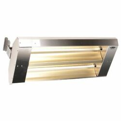 Fostoria 342-90-thss-480v Electric Infrared Heater, Ceiling, Suspended, 304
