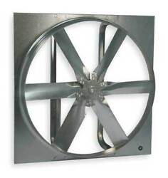 Dayton 7cc99 Standard Duty Exhaust Fan With Motor And Drive Package 30 In