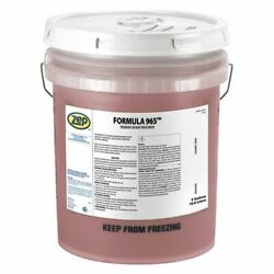 Zep 51733 35 Lb. Heavy-duty Powdered Car And Truck Wash Pail, Pink, Formula 965