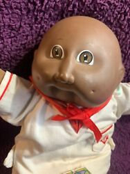 Vintage, 1985, African-american Cabbage Patch Kid Baby. With Original Tag. Adora