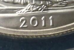2011 S Anacs Ms 69 Silver Eagle 1 Ddo Variety Double Die Wddo-001 Wide Date