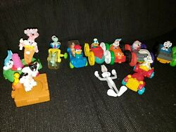 Vintage 1990's Mcdonalds Happy Meal Toys Lot Of 10 Tiny Toons Animaniacs Bugs