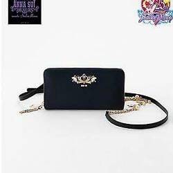 Used Sailor Moon X Anna Sui Chain Wallet Rare Limited Import From Japan