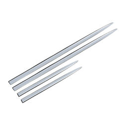 Abs Chrome Car Body Door Side Molding Trim Sill Cover Guard Strips Accessories