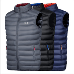 Menand039s New Under Armour Outdoor Sports Ultra-light Warm Menand039s Cotton Vest 21-109