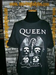 Vintage Queen Mercury Rock Cotton Jersey Shirt Trikot Maillot And03980s