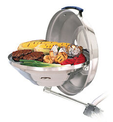 Magma A10-114 Large 17 Party Size Marine Stainless Steel Charcoal Kettle Grill