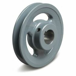 Tb Wood's Ak5158 5/8 Fixed Bore 1 Groove Standard V-belt Pulley 4.95 In Od