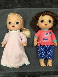 Baby Alive Dolls Lot Of 2 Dolls Take Care Of Me Doll And Potty Dance Doll