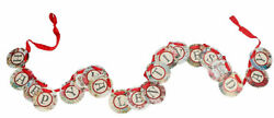 Happy Valentineand039s Day Circle Garland Primitives By Kathy 9 Feet Long