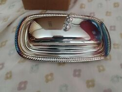 International Silver Company Silver-plated Butter Dish - 4287 Vintage