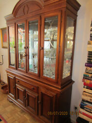 Display Cabinet Made Of Solid Wood Country-style