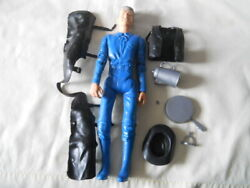 Vintage Marx Best Of The West Action Figure Sheriff Garrett W/ Accessories