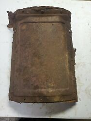 1949 Chevy Bel Air Deluxe Floor Center Cover Plate Inspection
