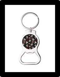 Sf 49ers Mickey Mouse Custom Bottle Opener Keychain Key Ring Cool Unique Gift