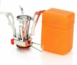 Portable Camping Stoves Backpacking Stove with Spark Ignition Bonus Multi Tool $12.98