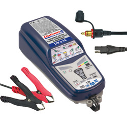 Optmimate 4 Can-bus Charger 12v 1a Tm-351 With Bmw Motorcycle Adapter - New