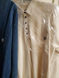 Vintage Blue Williand039s Denmark 2 Sweaters Button And Snap Size Xl