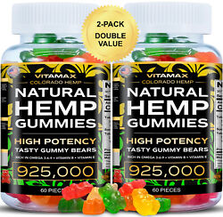 2 Pack Natural Gummies For Stress Relief - For Pain Insomnia And Anxiety 120ct