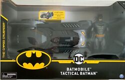 Buy Batmobile And Tactical Batman New Toy Dc Comicsbest Gift For 4 + Years Old