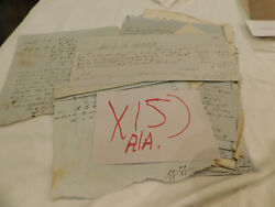 118 Alabama Pre Civil War Court Documents Lot Of 36 Various People Subjects