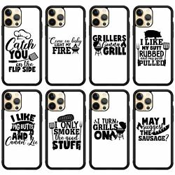 Phone Case For All Iphone Bbq Barbecue Grill Pig Pork Cook Chef Dad Quote Cover