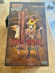 Elite Force Wwii Airborne 101st Medic First Sargent Will Baily 16 Figure