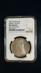 1887 Great Britain Four Shillings Ngc Uncirculated Silver 4s Coin Buy It Now
