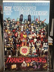 Transformers More Than Meets The Eye 12 2012 Coller 110 Variant - Rare