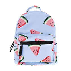 Cute 10 inch mini pack bag backpack for grils children and adult watermelon $24.51