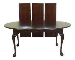 L50625ec Statton Old Towne Cherry Ball And Claw Dining Table