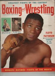 Boxing And Wrestling Floyd Patterson Bobo Olson August 1955 010721nonr