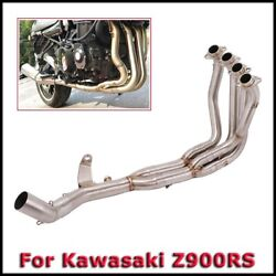 For Kawasaki Z900rs Front Header Link Connect Pipe For 51mm / Original Exhaust