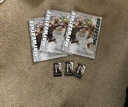 Floyd Mayweather V Conor Mcgregor Official Programme Plus Mgm Room Key Card