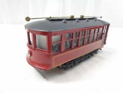 ✅bowser Operating Birney Trolley Street Car Use With Your Lionel Mth O Gauge
