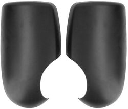Ford Transit Mk7 Mk6 00-14 Black Door Wing Mirror Cover Pair Left And Right 24hr